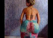 Esposa bunduda mostrando que sabe rebolar em um Vídeo Porno Amador